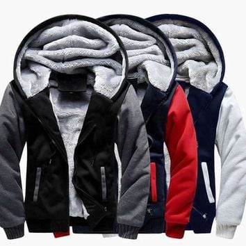 Price American Footballer Men Hoodies Warm Thicken Mens Hoodies Sweatshirts Winter Plus Size Fleece Custom Made