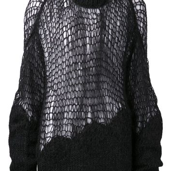 Maison Martin Margiela open weave sweater