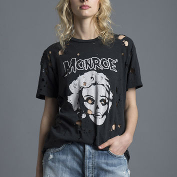 Monroe Destroyed Tee