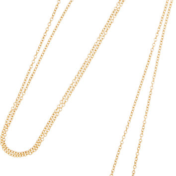 Jemma Wynne - 18-karat gold diamond necklace