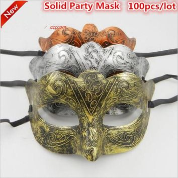 Hot Sale LOT 100 Ball Party Masks Masquerade Theme Fox Mask
