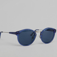 Etudes/Hixsept Blue Werner Sunglasses Etudes x Super on sale at L'Exception