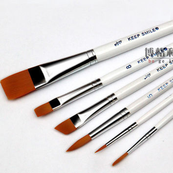 Premium Gouache Set of 6 Brushes