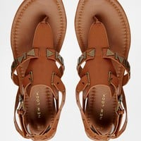 New Look Flat Sandals with Studs