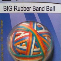 Big Rubber Band Ball
