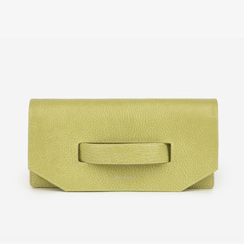 Matt and Nat Abiko Dwell Clutch Handbag. Vegan. Citrus Color.