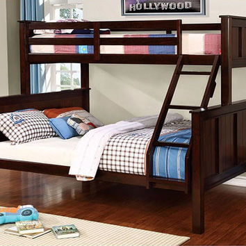 Harper Extra Long Twin over over Queen Bunk Bed