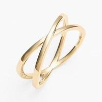 Women's Bony Levy Crossover Open Ring (Nordstrom Exclusive)
