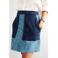 Denim Pam Skirt by Loup for Of a Kind