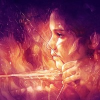 """Catching Fire"" - Art Print by Anna Dittmann"