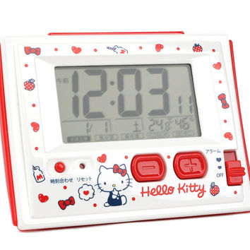Hello Kitty Digital Alarm Clock: Hearts