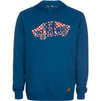 Vans Off The Wall Mens Sweatshirt Blue  In Sizes