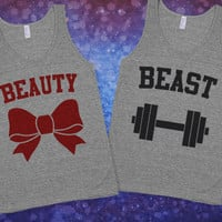 Beauty & Beast Pair Shirts | Skreened.com