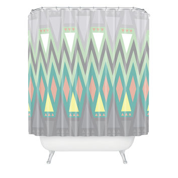 Gabi All Things New Shower Curtain