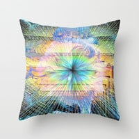 Living Color Throw Pillow by J.Lauren