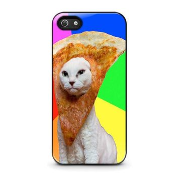 pizza cat 1 iphone 5 5s se case cover  number 1
