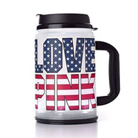 Victoria's Secret PINK Light Up Chug Mug Americana