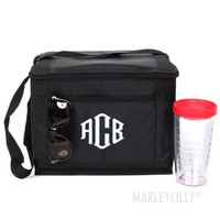 Monogrammed 12 Can Cooler | Marleylilly