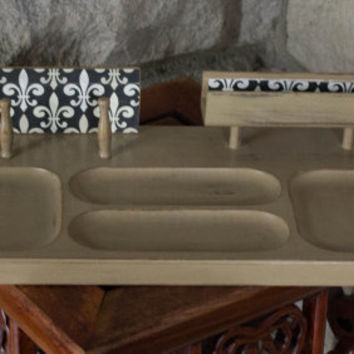 Jewelry Box, Valet tray, Cappuccino Brown