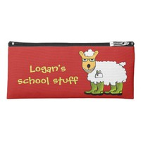 George - he's a little sheepish pencil case