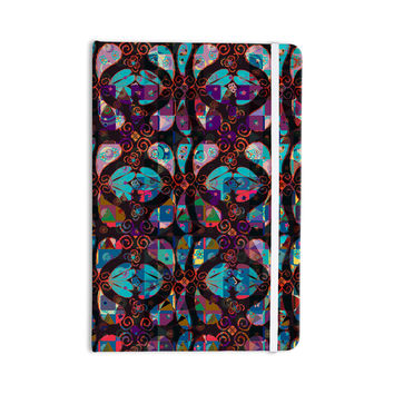 "Suzanne Carter ""Pattern"" Multicolor Abstract Everything Notebook"