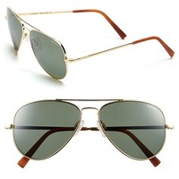 Men's Randolph Engineering 'Concorde' 57mm Polarized Sunglasses - 23k Gold Plated/ Agx