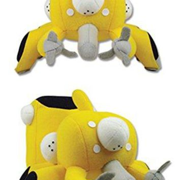 """Great Eastern Entertainment Ghost in the Shell Tachikoma Collectible Plush Toy, Yellow, 5"""""""
