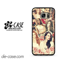Lana Del Rey Collage DEAL-6323 Samsung Phonecase Cover For Samsung Galaxy S7 / S7 Edge
