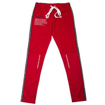 Confidential Track Pants