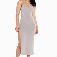 Split Slip Dress