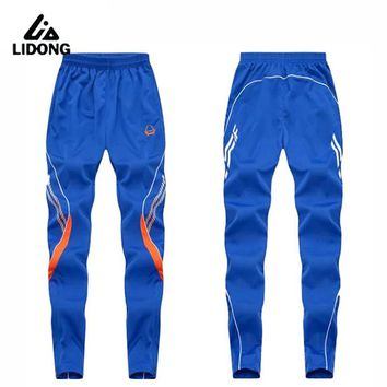 Training Soccer Pants Football Active Jogging pants Sport Running Track GYM clothing Men's Sweatpant Trousers
