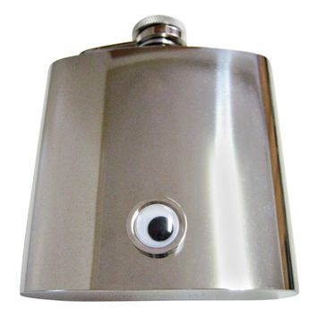 Googly Eye 6 Oz. Stainless Steel Flask
