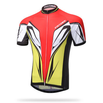 Summer Short Sleeve Bicyclex Outdoors Permeable Quick Dry Tops [6581713927]