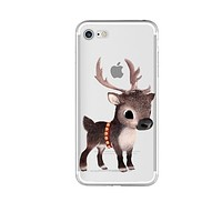 Baby Reindeer Phone Case For iPhone 7 7Plus 6 6s Plus 5 5s SE