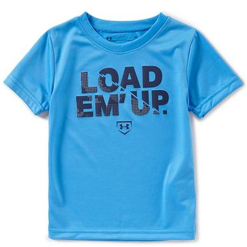 Under Armour Little Boys 2T-7 Load Em Up Short-Sleeeve Tee | Dillards