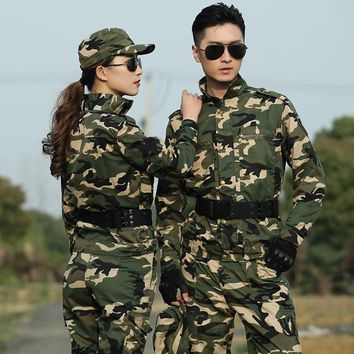 Men's Camouflage Hunting Jacket Outdoor Army Combat Jacket Military Tactical Jacket Men Hiking Sports Training Hunter Jacket