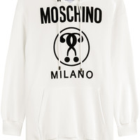 Moschino - Printed Cotton Hoodie