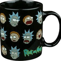 Rick & Morty | Many Face Of MUG