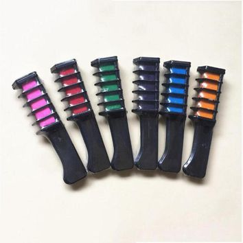 Disposable Personal Salon Use Hair Dye Comb Professional Crayons For Hair Color Chalk Hair Dyeing Tool L3