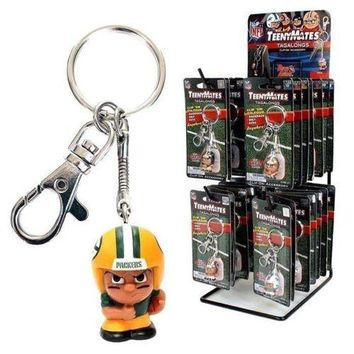 OFFICIAL NFL TEENYMATES Tagalongs Running Back Backpack Bag Clip Keychain Team