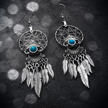 Dream Catcher Earrings - Elegant Tribal