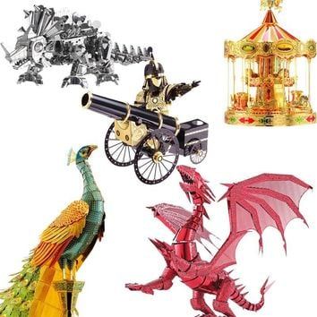 Piececool 3D Metal Puzzle Toy