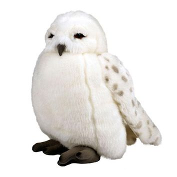Universal Studios Harry Potter Hedwig Puppet With Sound Plush Toy New with Tags