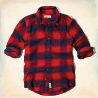 Broad Beach Classic Fit Flannel Shirt