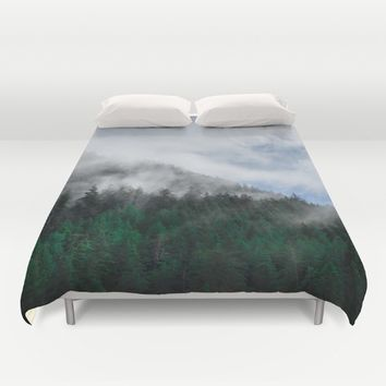 The Air I Breathe Duvet Cover by Mixed Imagery