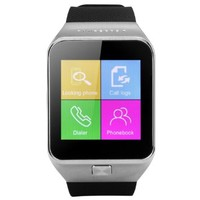 ZGPAX Bluetooth Smart Watch Unlocked SIM Phone Watch Sync Call Music Reminder Anti-lost phone mate for IOS 5S,5C,Samsung Galaxy S5,Note 3,HTC One LG G3