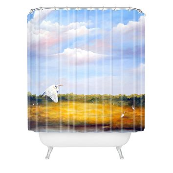 Rosie Brown Come Fly With Me Shower Curtain