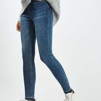 MOTO Let Hem Blue Jamie Jeans - Jeans - Clothing