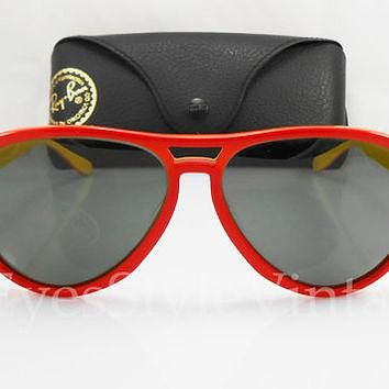 B&L, Ray Ban, New Old Stock, Olympic, Vagabond, 58mm, Ultra Rare, Vintage, 1970s, Sung