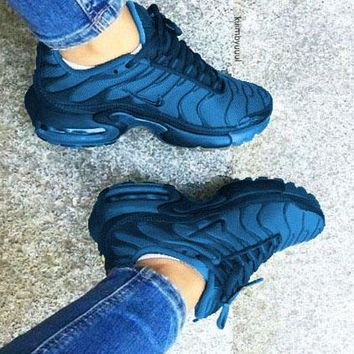 NIKE Air Max Plus Tn Ultra Wave Print Women Men Sneakers Fashion edab19016